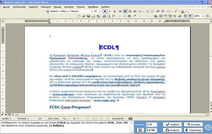 test4u ecdl core free